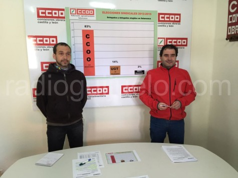 Miembros de CCOO