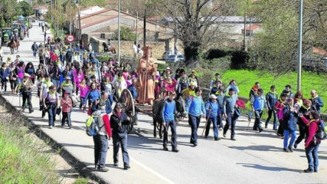 Vía Lucis. Foto elnortedecastilla.es