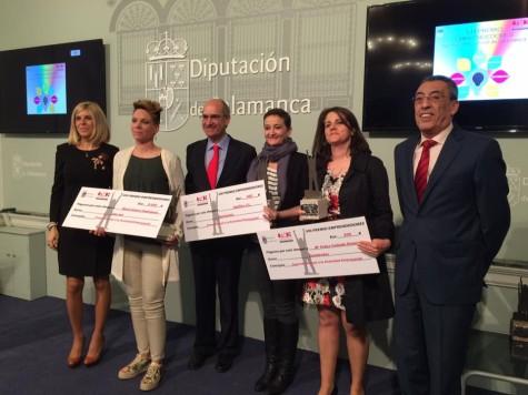 Premios Emprendedores. Foto Diputación de Salamanca