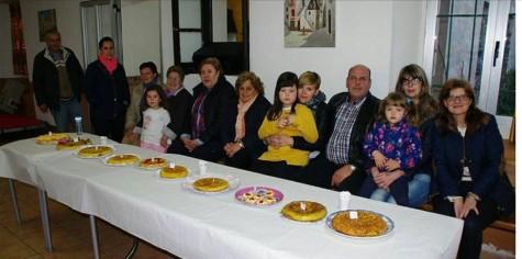 Concurso de tortillas en Cabezueala. Foto Marixuxy