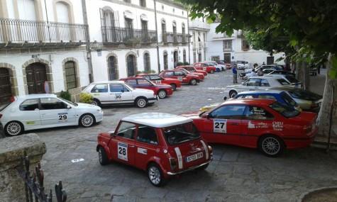 Rallye Entresierras Histórico. Foto fesa.es