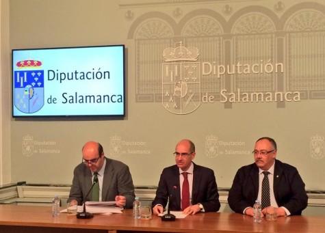 Presentación en la Diputación de Salamanca. Foto Diputación de Salamanca.