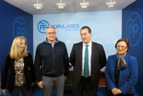 Procuradores del PP en Salamanca. Foto PP Salamanca