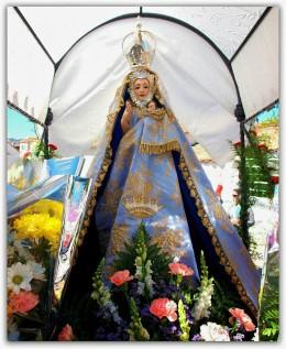 Virgen de la Orden. Foto Ángel Rosado.