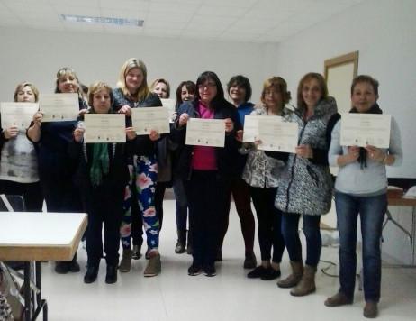 Alumnas del taller de autonomía personal.