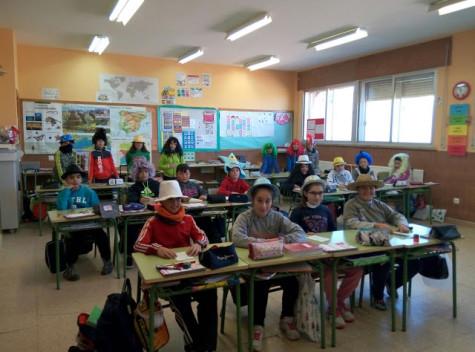 Alumnos del Miguel de Cervantes. Foto archivo.