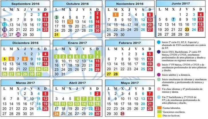 La Junta cierra el calendario escolar del curso 2016-2017 – Radio