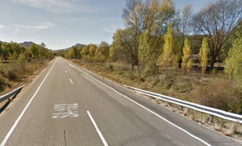 Carretera SA-102. Foto Google Maps.