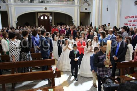 Jornada de comuniones en Guijuelo. Foto archivo
