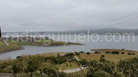 Pantano de San Teresa en el entorno de Salvatierra de Tormes.