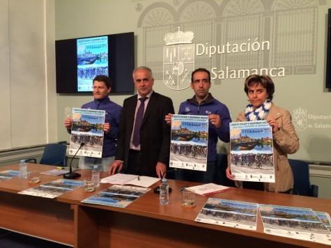 Presentación de la I Vuelta a Salamanca. Foto Diputación de Salamanca.