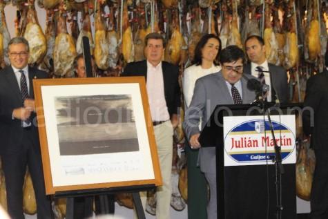 Presentación de las Carreras de Sanlúcar en la fábrica de Julian Martín de Guijuelo