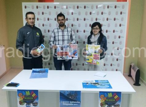 Presentación de las actividades veraniegas por parte de la concejalía de Deportes y Juventud.