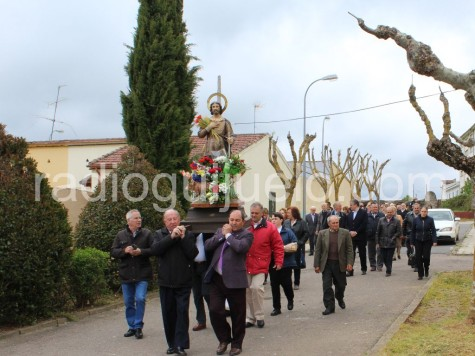 Procesión de San Isidro en Guijuelo