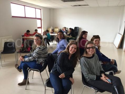 Taller Intergeneracional celebrado en el Centro Cultural de Guijuelo.