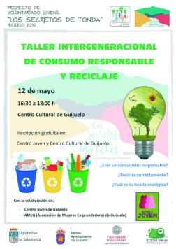 Taller Intergeneracional  de consumo responsable y reciclaje
