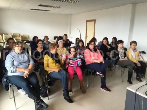 Un taller celebrado en el Centro Cultural de Guijuelo.