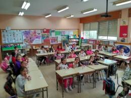 Alumnos del Miguel de Cervantes. Foto M.C..