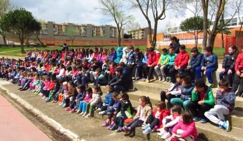 Alumnos del Colegio Miguel de Cervantes. Foto Miguel de Cervantes.