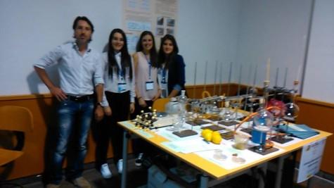 Alumnas del IES Vía de la Plata.