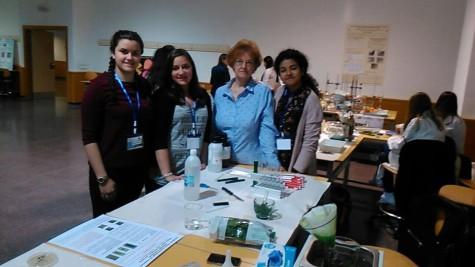 Participantes del concurso Investigando la Química. Foto IES Vía de la Plata