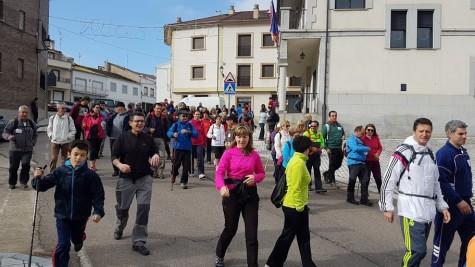 Marcha del Sangusín. Foto Ayto. Ledrada