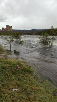 Rio Tormes a su paso por Puente del Congosto. Foto Tomasa Hernández