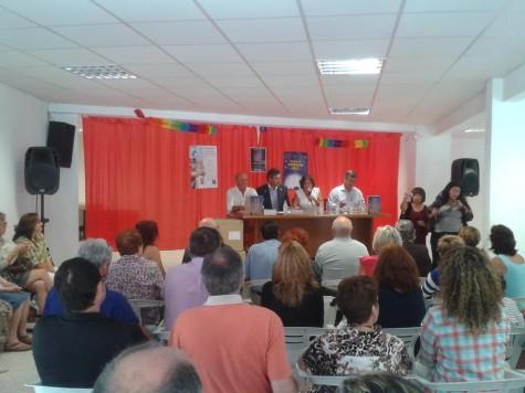Presentación del libro 'Sorihuela, colina vetona' . Foto Diputación de Salamanca