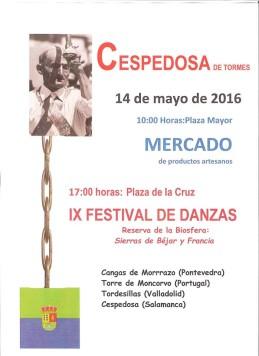 viernes 14 mayo CESPEDOSA danzas