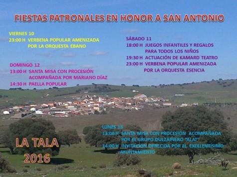 Fiestas de San Antonio en La Tala