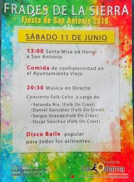 11 junio FRADES fiestas