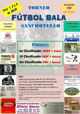 Torneo de fútbol sala en Sanchotello