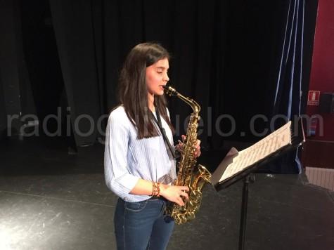 Alumna de la Escuela de Música de Guijuelo.