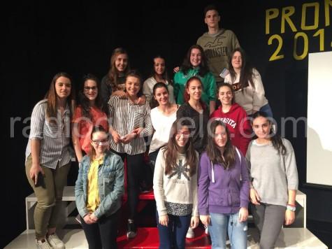 Alumnos de Segundo Bachillerato del IES.