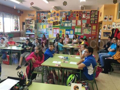 Alumnos de sexto de Primaria del Miguel de Cervantes