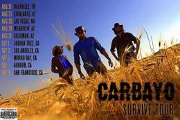 Carbayo Survive Tour