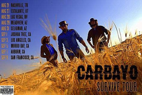 Carbayo Survive Tour