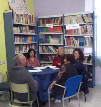 Club de lectura de Endrinal. Foto Endrinal.