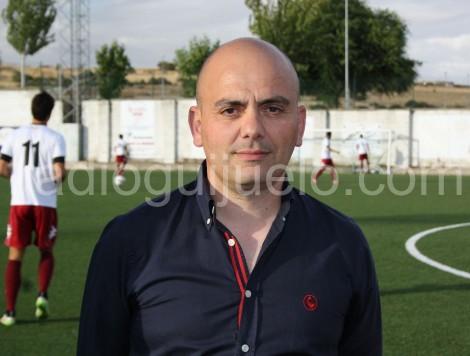 El director deportivo del CD Guijuelo Chema Aragón.