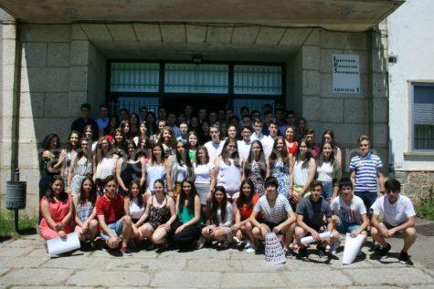 Graduación de los alumnos de 4º de la ESO del IES Vía de la Plata.
