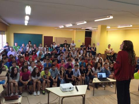 Graduciación de los alumnos de 6º del colegio Miguel de Cervantes. Foto Miguel de Cervantes