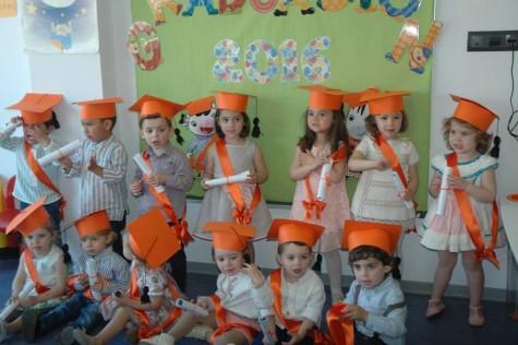 Graduaciones en la Escuela Infantil de Guijuelo