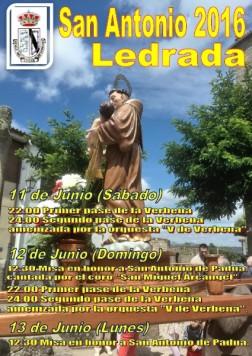 MIERCOLES 11 junio LEDRADA san antonio