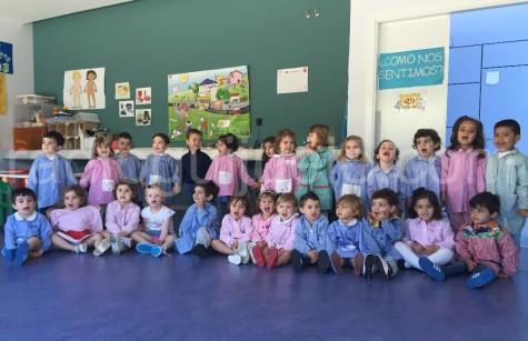 Niños y niñas de la Guardería Municpal. Foto archivo