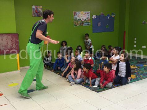 Niños y niñas en la Ludoteca Municipal
