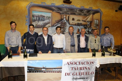 Junta Directiva de la Asociación Taurina de Guijuelo.