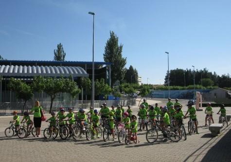 Participantes del campus multideportivo.
