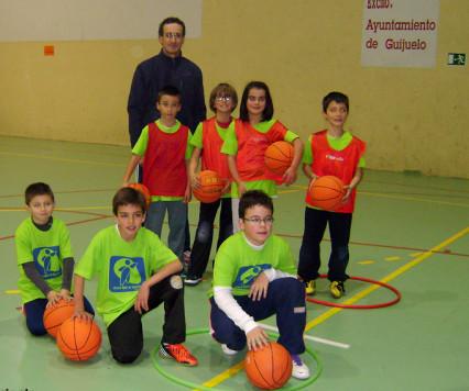 Participantes en el campus deportivo de Guijuelo. Foto archivo