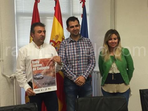 Presentación del rally Jamón de Guijuelo.