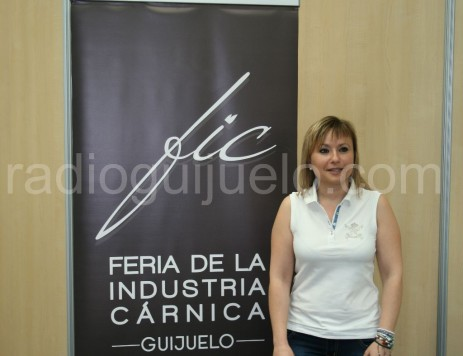 Sandra Méndez concejala de Turismo y Ferias en la FIC.